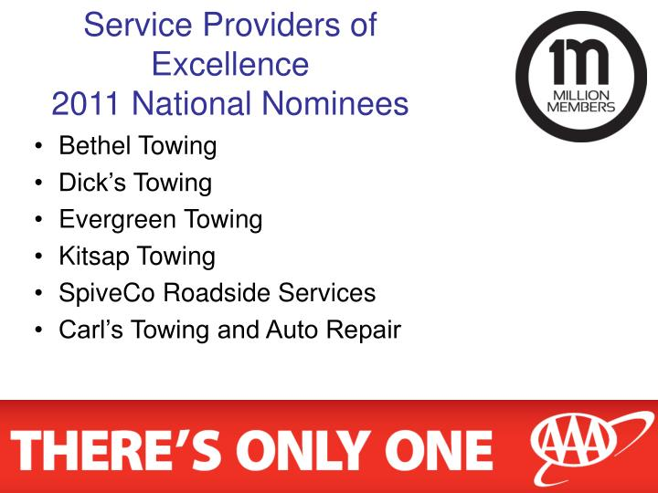 Service Providers of