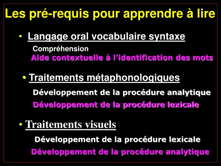 Langage oral vocabulaire syntaxe