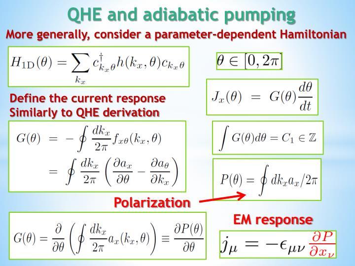 More generally, consider a parameter-dependent Hamiltonian