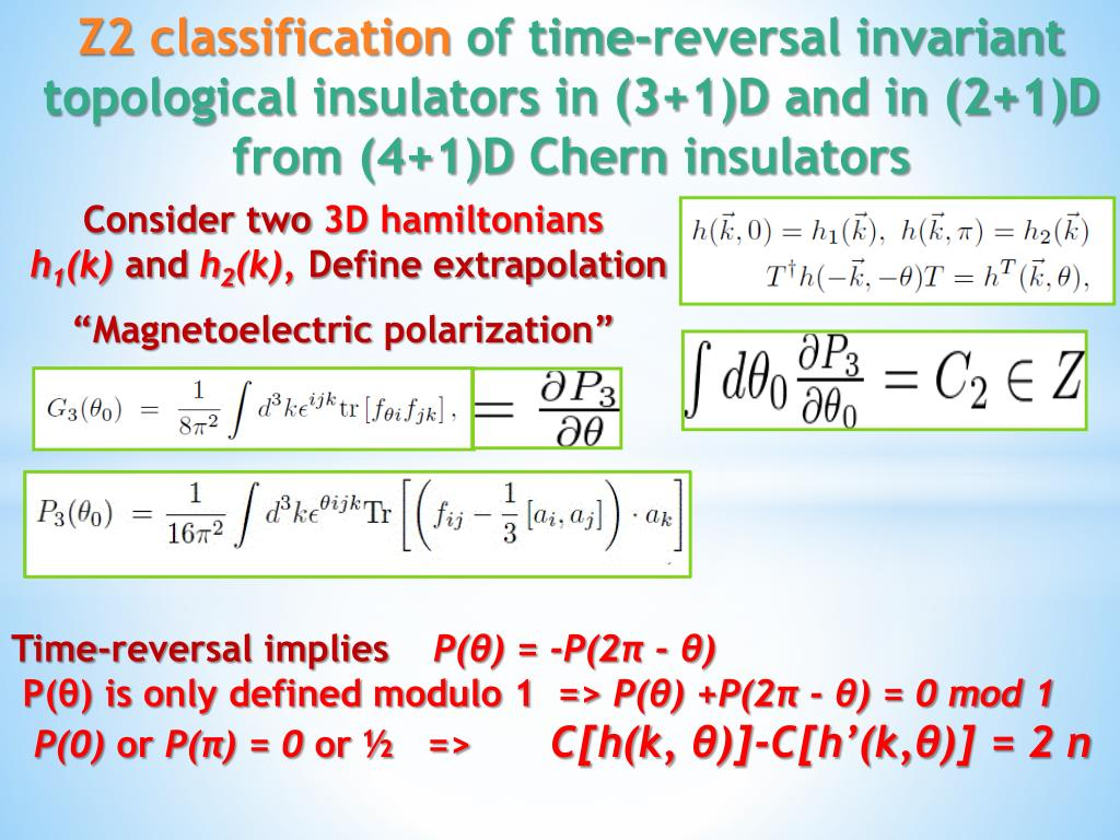 PPT - Topological insulators PowerPoint Presentation - ID:6572283