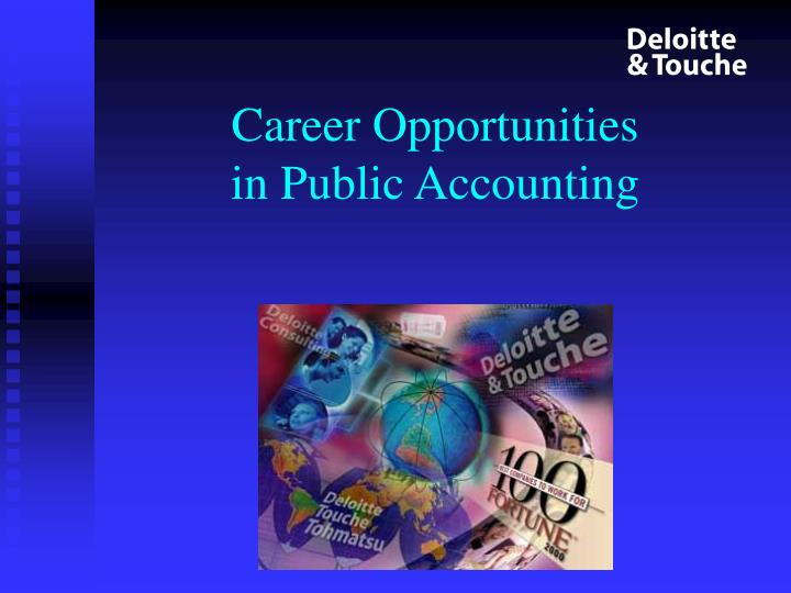 career opportunities in public accounting n.