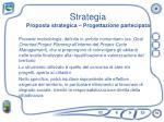 strategia proposta strategica progettazione partecipata