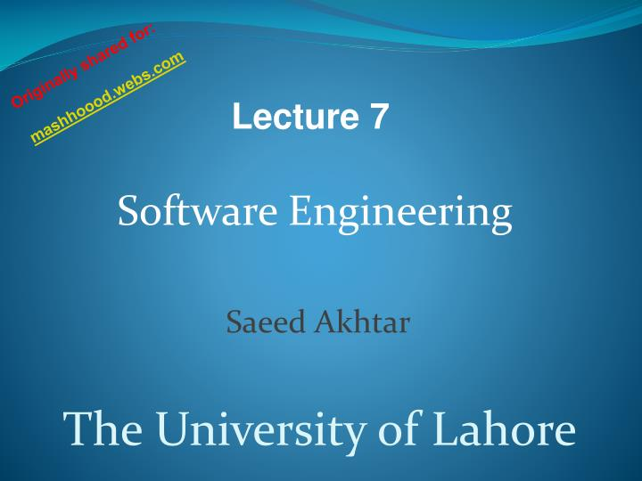 software engineering ppt Software engineering presentation 1 welcome to the presentation of project on laboratory of software engineering 2 opps online photo processing system (opps.