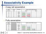associativity example1