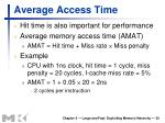 average access time