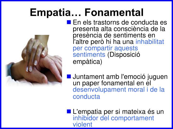Empatia… Fonamental