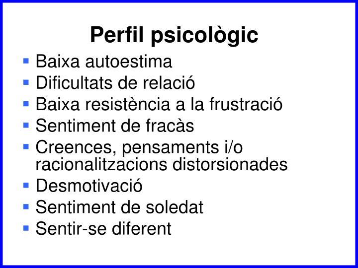 Perfil psicològic