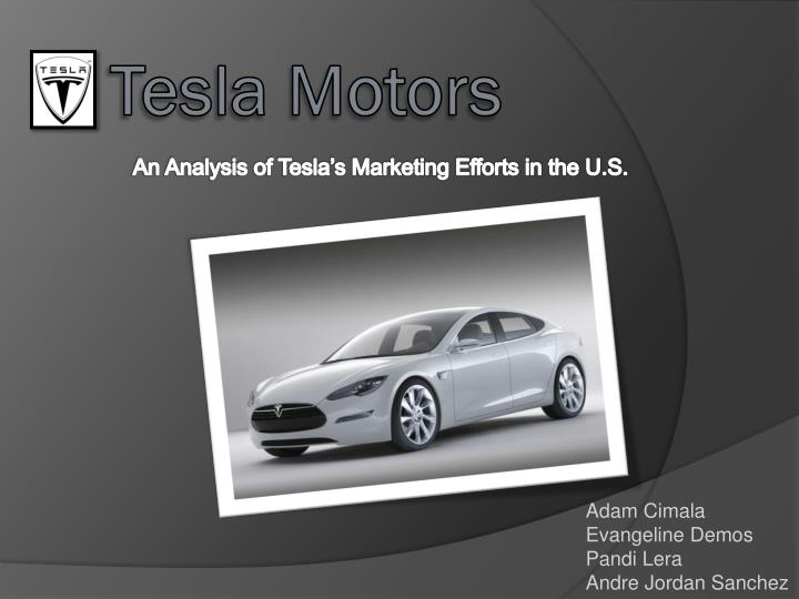 tesla motors case analysis In mid-2013, tesla motors was riding a wave of success: it had released its first really mass-created vehicle-the model s-to rave reviews.