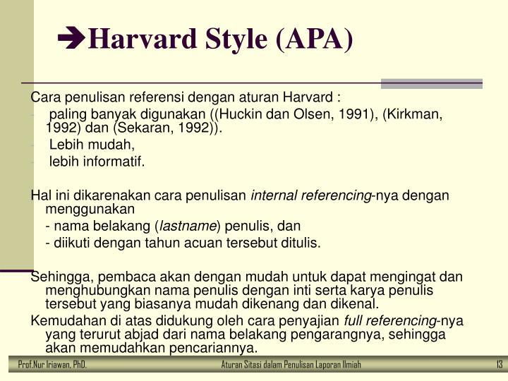 Ppt Telaah Pustaka Dan Aturan Sitasi Dalam Penulisan Proposal
