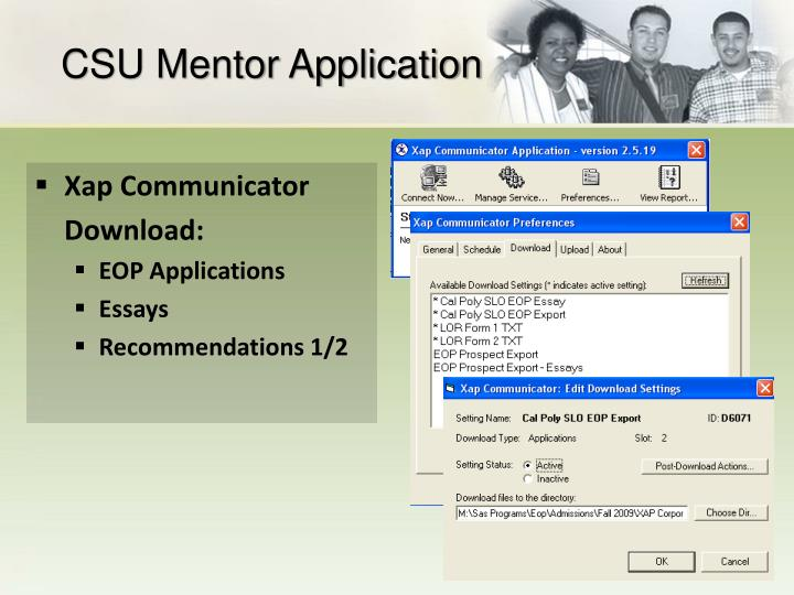 CSU Mentor Application