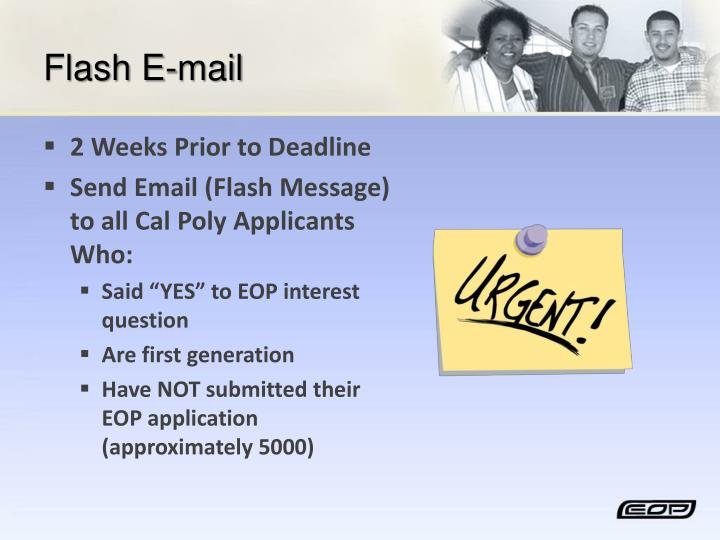 Flash E-mail