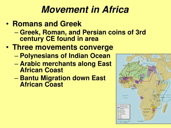 Movement in Africa