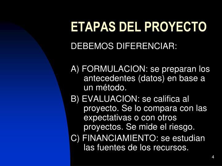 formulacion y evaluacion de proyectos Presentación del curso de formulación y evaluación de proyectos de inversión  formulacion de proyectos de  evaluacion de proyectos de.