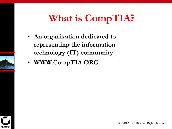 What is comptia