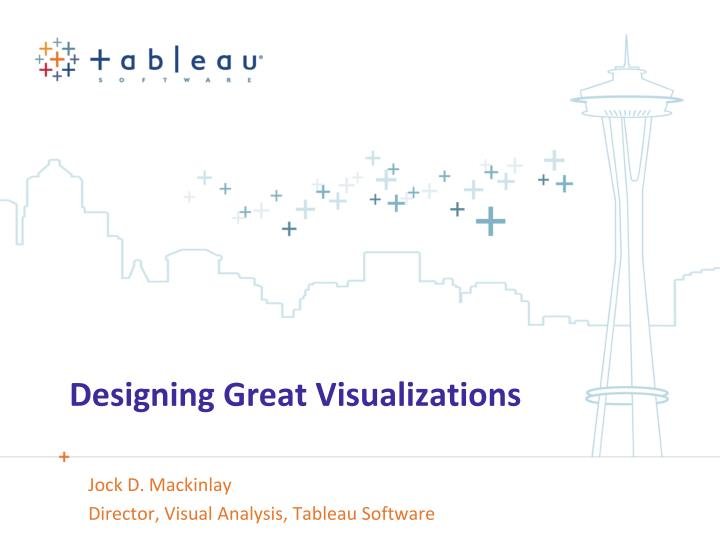 designing great visualizations n.