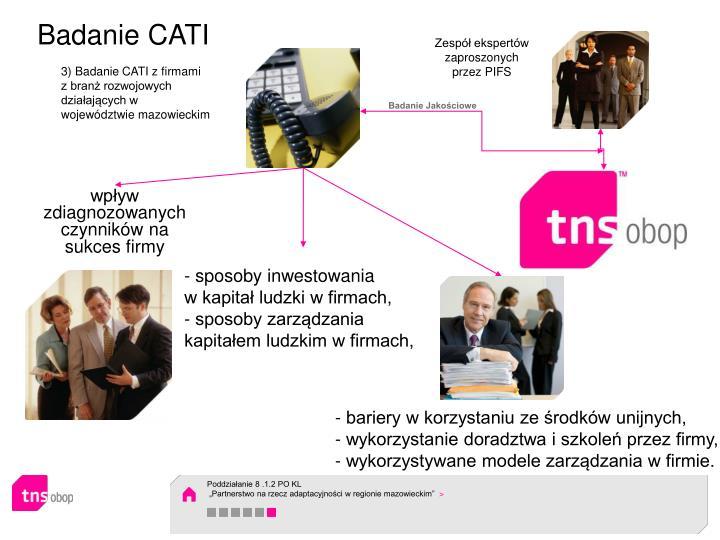 Badanie CATI