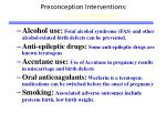 preconception interventions avoid teratogens