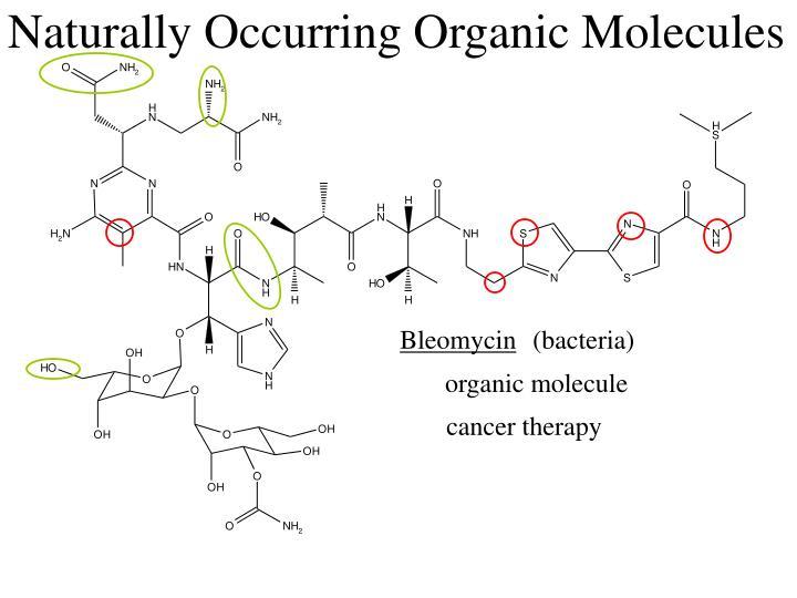 Naturally Occurring Organic Molecules