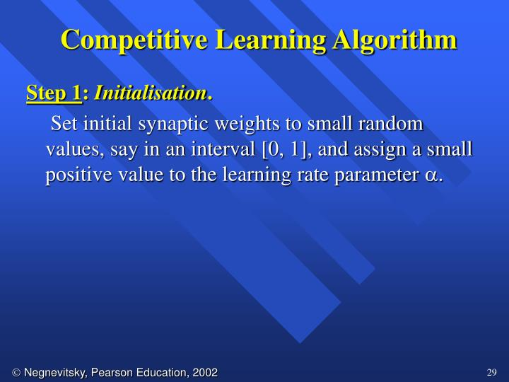 Competitive Learning Algorithm
