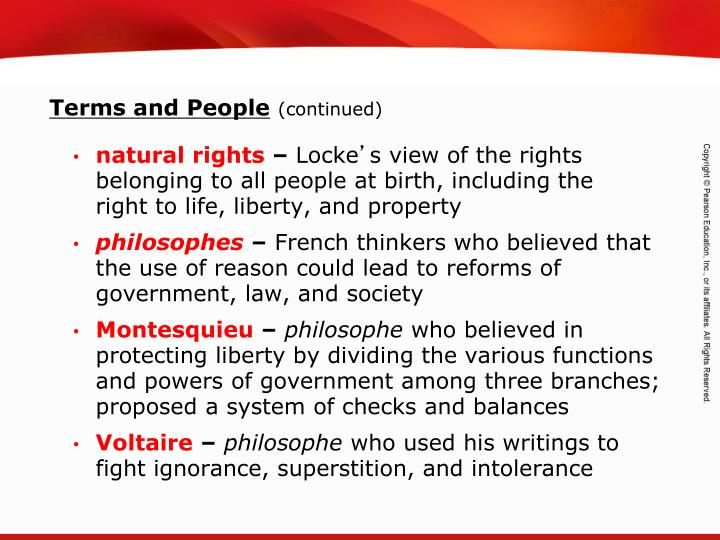 Which Of Europe S Enlightenment Philosophers Wrote About Natural Rights