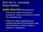 dhs 159 13 individuals responsibilities1