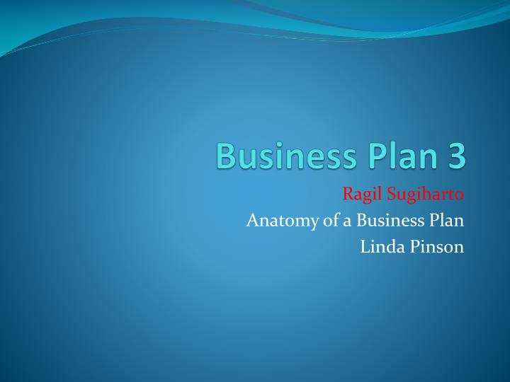 Business plan 3