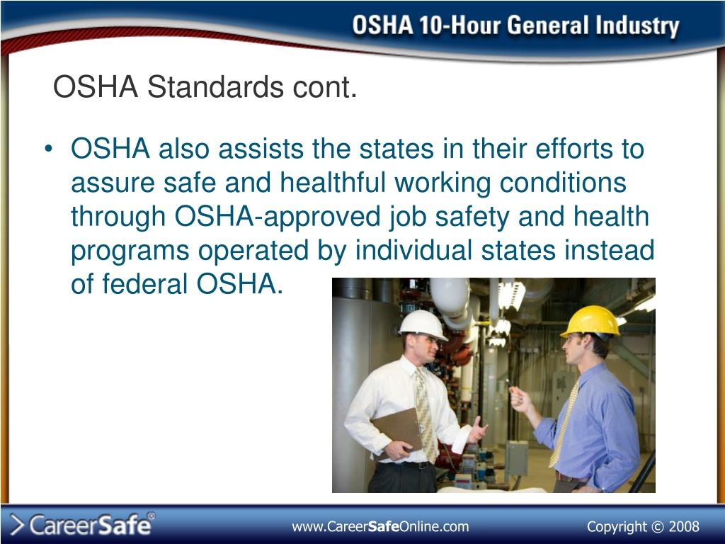 PPT - Introduction to OSHA (Part 1) PowerPoint Presentation