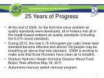 25 years of progress1