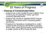 25 years of progress5