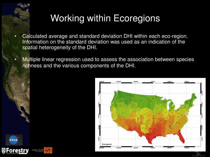 Working within Ecoregions
