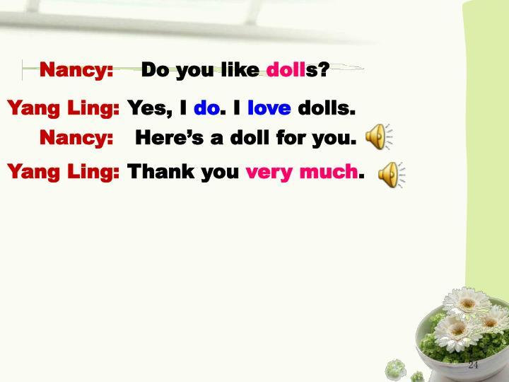 Nancy: