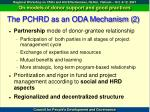 the pchrd as an oda mechanism 2