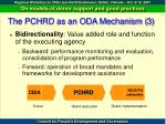 the pchrd as an oda mechanism 3