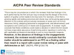 aicpa peer review standards4