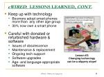 ewired lessons learned cont1