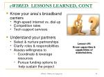 ewired lessons learned cont2