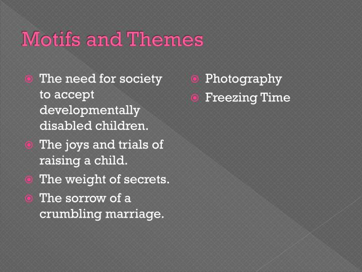 Motifs and Themes