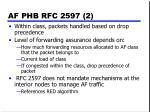 af phb rfc 2597 2