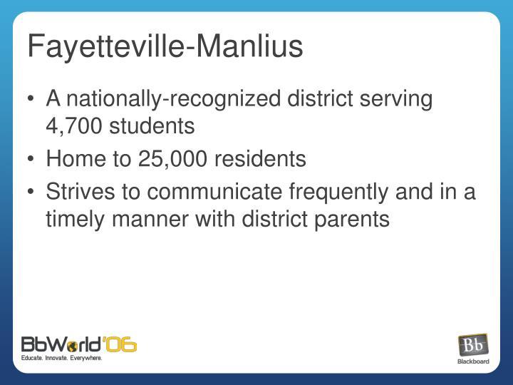 Fayetteville manlius