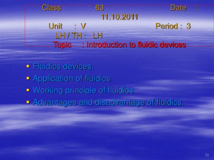 Class   :  63Date    :  11.10.2011