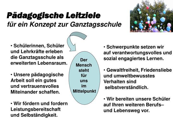 Pädagogische Leitziele