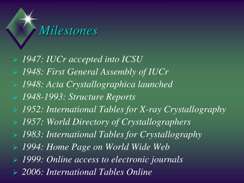PPT - International Union of Crystallography PowerPoint
