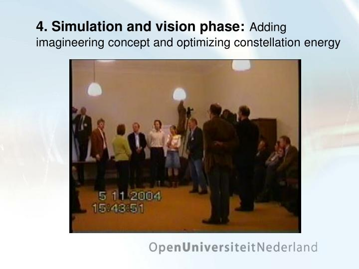 4. Simulation and vision phase: