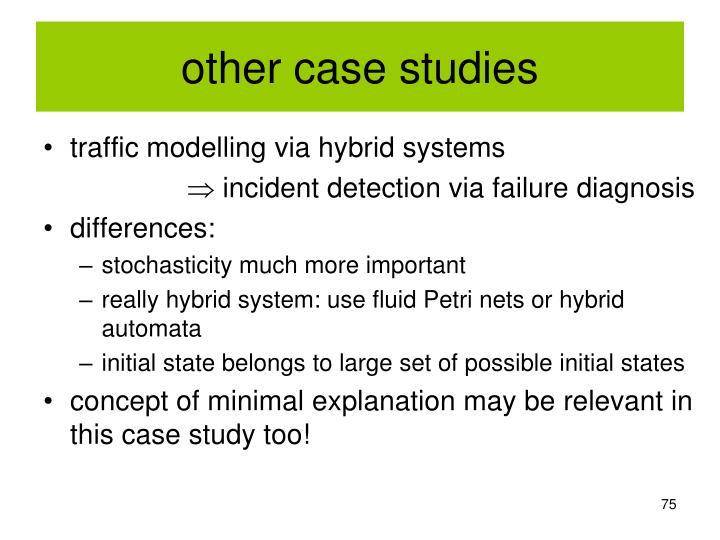 other case studies