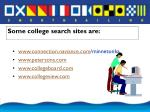 some college search sites are