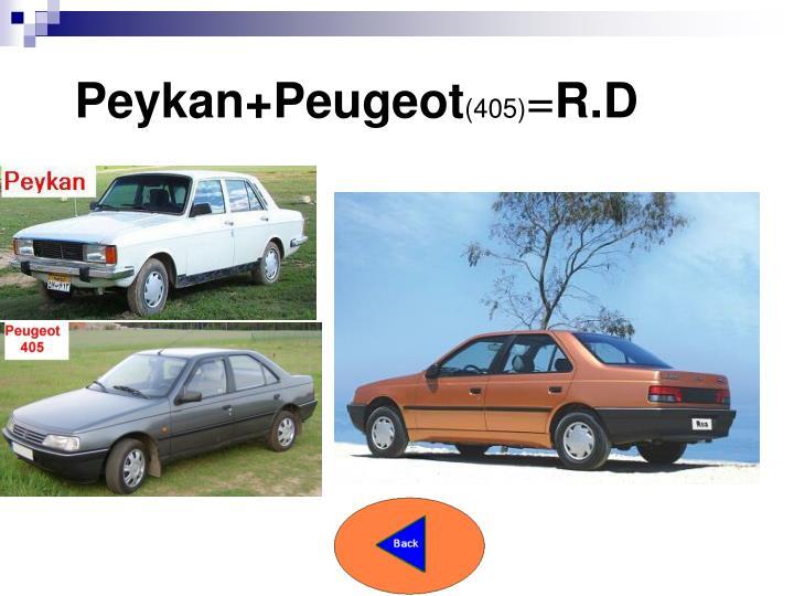 Peykan+Peugeot