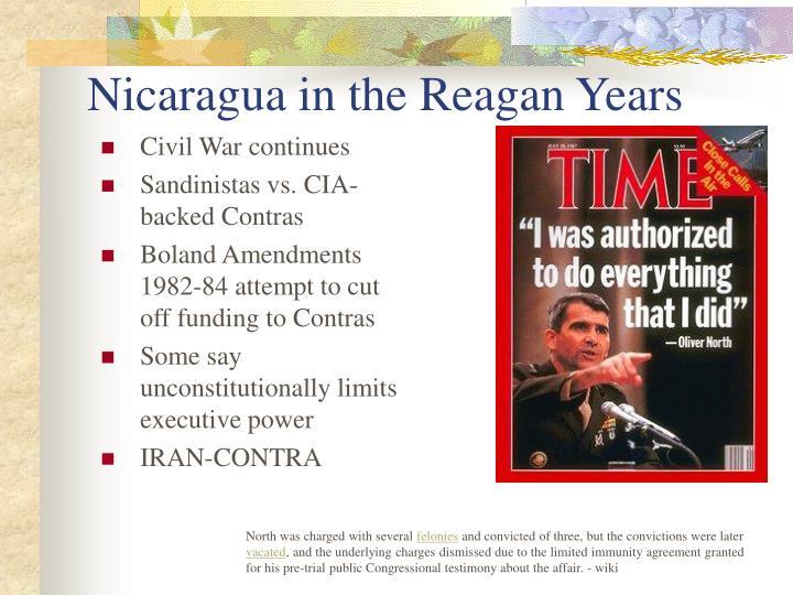 nicaragua and the sandinistas essay
