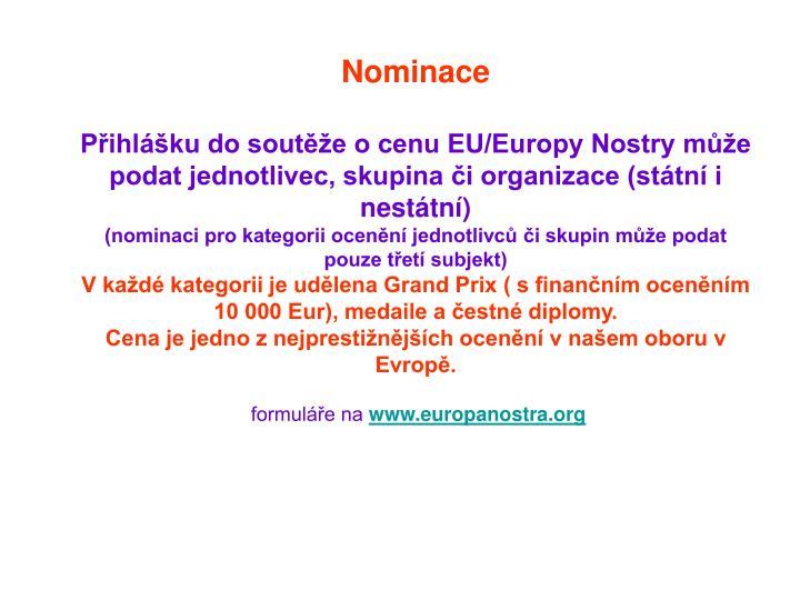 Nominace