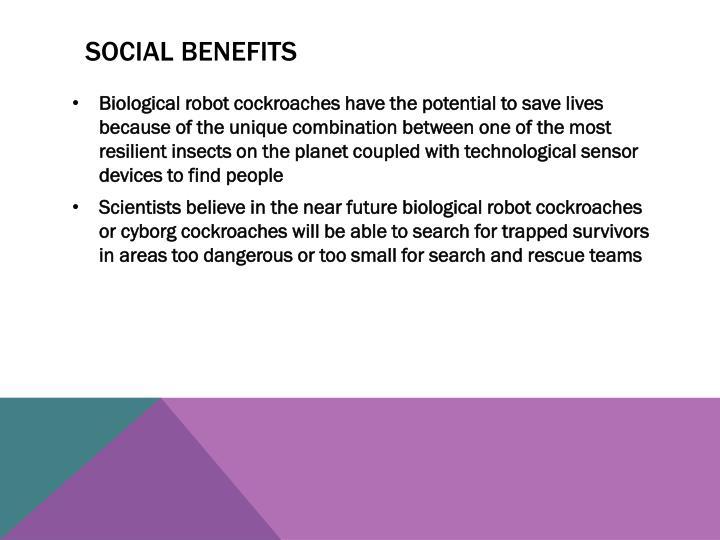 Social Benefits