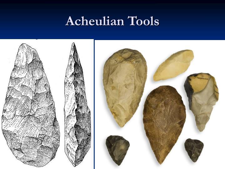 Acheulian Tools